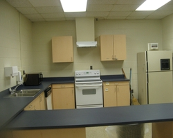 Kitchen Modification at Interior Renovation Central Special School