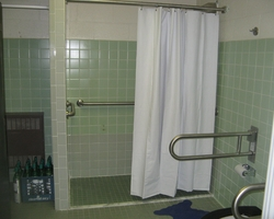 New ADA Shower at Interior Renovation Central Special School