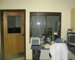 Nurses Station at Interior Renovation Central Special School