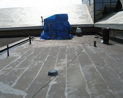 Roofing Repairs at Hyattsville Justice Center Phase 1 & 2